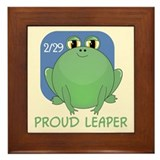 Proud Leaper Framed Tile