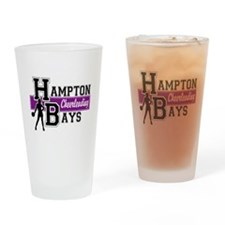 Hampton Bays Cheerleading Drinking Glass