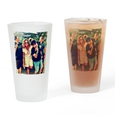 Barefoot Hippies Cover Drinking Glass