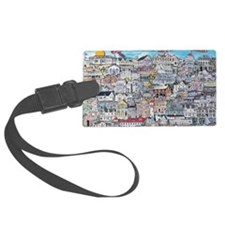 Cape May Cottages Luggage Tag