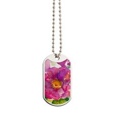 Camden Beach Rose Dog Tags