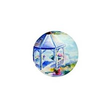 GazeboAtTheCoveShower Curtain Mini Button