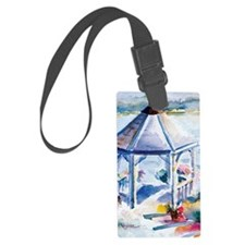 Gazebo At the Cove Luggage Tag