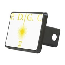Perth Disc Golf Club Gold Hitch Cover