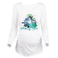 Release the Kraken Long Sleeve Maternity T-Shirt