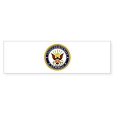USN Navy Veteran Eagle Bumper Sticker