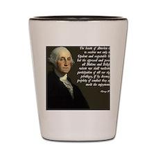 George Washington Immigration Quote Shot Glass