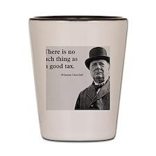 Churchill Tax Quote Shot Glass