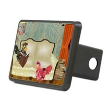 PE couch large print Hitch Cover