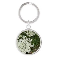 QUEEN ANNE™ Round Keychain