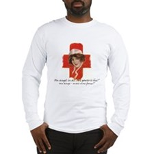 French Red Cross Poster Nurse  Long Sleeve T-Shirt