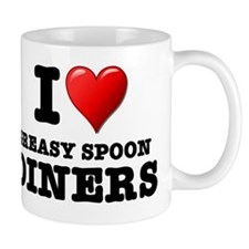 I LOVE - GREASY SPOON DINERS Mug