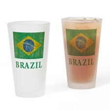 Vintage Brazil Drinking Glass