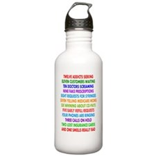 PHARMACIST 12 DAYS OF  Water Bottle
