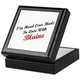 In Love with Blaine Keepsake Box