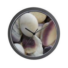 BEACH STONES  SHELLS™ Wall Clock