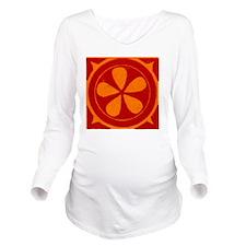 Sallie Long Sleeve Maternity T-Shirt
