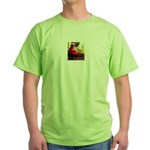 Christmas Dog Green T-Shirt