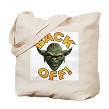 BACK OFF ~ Tote Bag