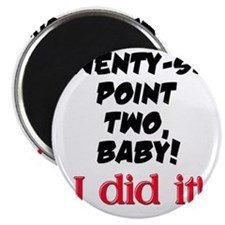 Twenty-six point two Magnet