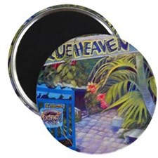 Blue Heaven New View framed print Magnet