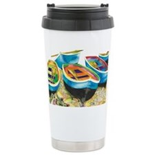 Row Row Ceramic Travel Mug