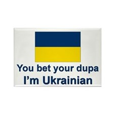 Ukrainian Dupa Rectangle Magnet