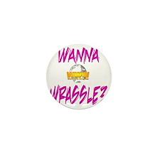 World Wide Wrestling Ladies Night Shir Mini Button