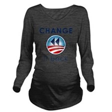 Change It Back Long Sleeve Maternity T-Shirt
