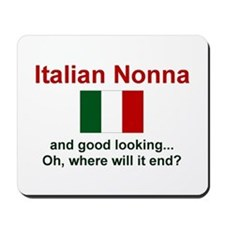 Italian Nonna-Good Lkg Mousepad