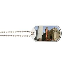 CHICAGO THEATRE BUILDING Dog Tags
