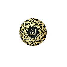 Allah Muhammad Mandala Mini Button
