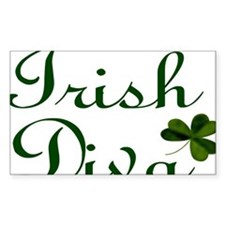 Irish Diva Laptop Decal