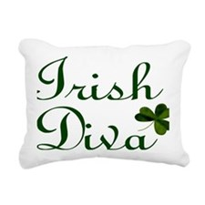 Irish Diva Laptop Rectangular Canvas Pillow