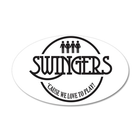 Swingers 35x21 Oval Wall Decal