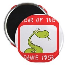 Year of The Snake 1953 Magnet