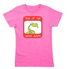 Year of The Snake 2001 Girl's Tee