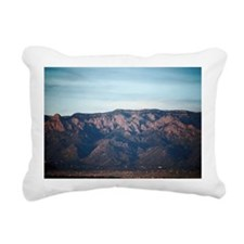 Sandia Crest, Albuquerqu Rectangular Canvas Pillow