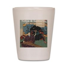 Ninja  Samurai Shot Glass