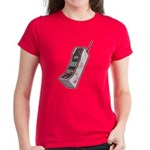 Worn 80's Cellphone Women's Dark T-Shirt