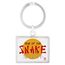 Year of Snake Landscape Keychain