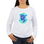 Eel Cartoon Women's Long Sleeve T-Shirt