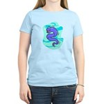 Eel Cartoon Women's Light T-Shirt