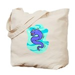 Eel Cartoon Tote Bag