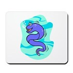 Eel Cartoon Mousepad