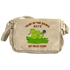 Year of Snake 2013 Messenger Bag