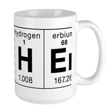 Teacher Made of Elements Mug