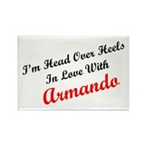 In Love with Armando Rectangle Magnet (100 pack)