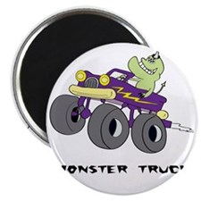 Monster truck Kids Magnet