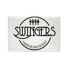 Swingers Logo Rectangle Magnet
